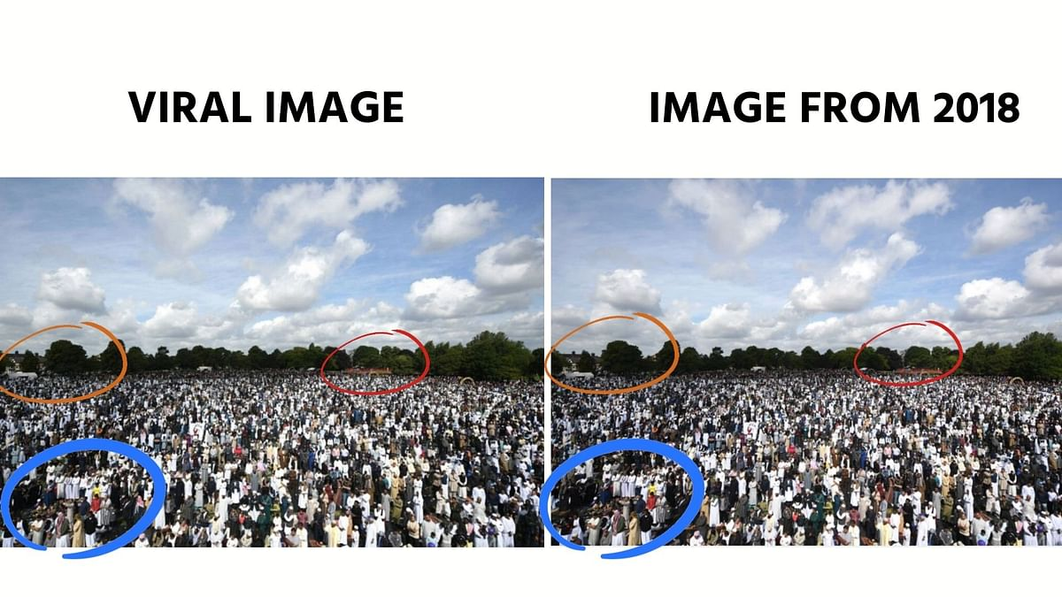 Images From UK, Indonesia Passed off as Ramadan Crowd in India