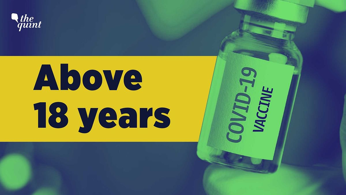 Everyone above 18 years of age will be eligible for the COVID-19 vaccine from 1 May.