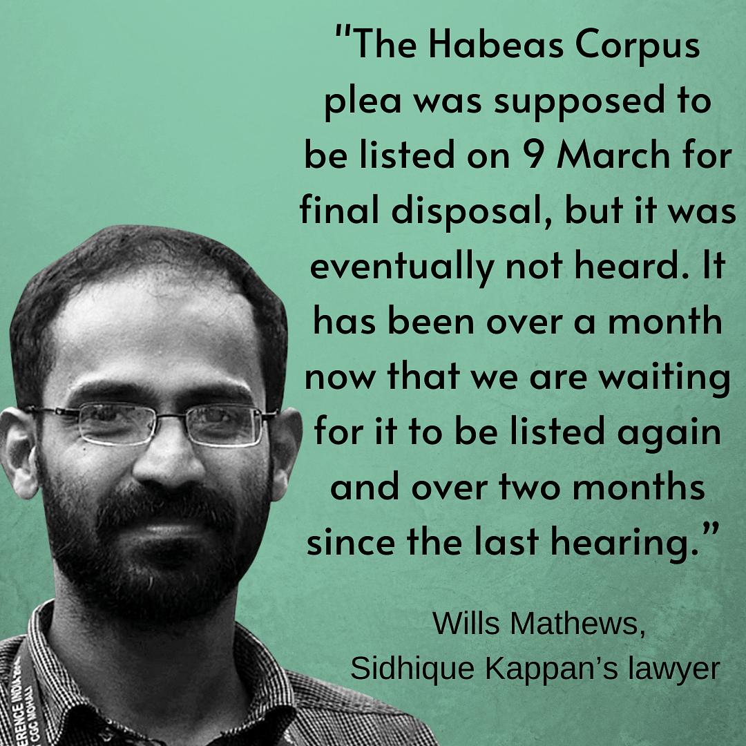 188 Days & Counting: Kappan's Habeas Corpus Plea Pending in SC
