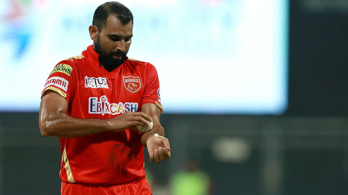 Mohammed Shami led the pace attack for Punjab Kings in IPL 2021.