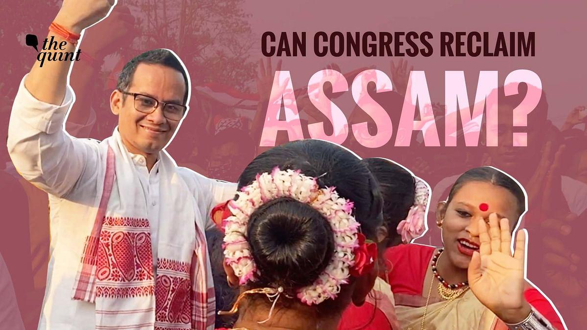"""<div class=""""paragraphs""""><p>Gaurav Gogoi at an election rally in Assam?&nbsp;</p></div>"""