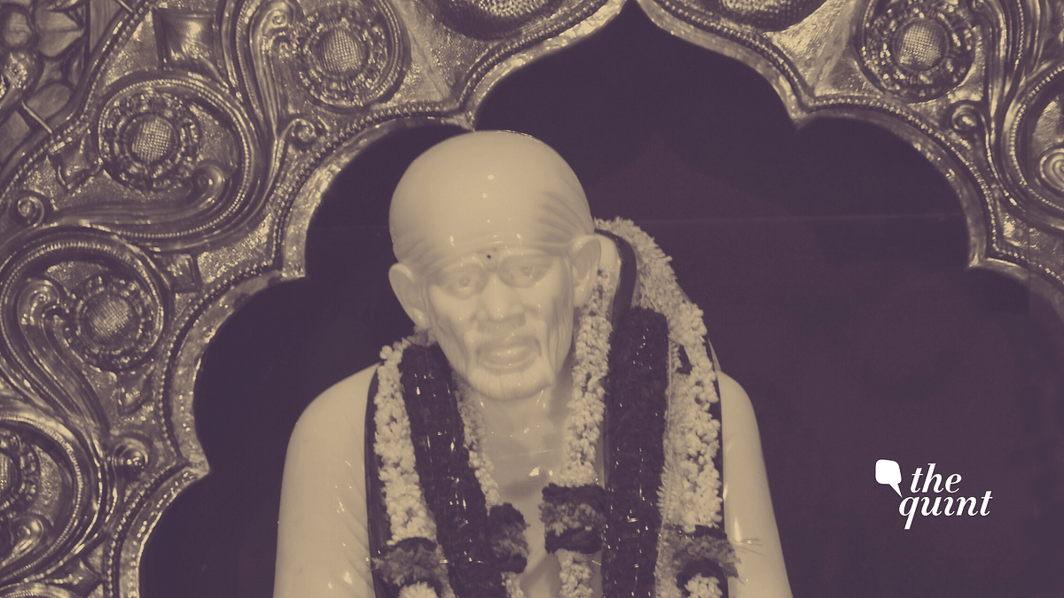Idol of Sai Baba. Image used for representational purposes.