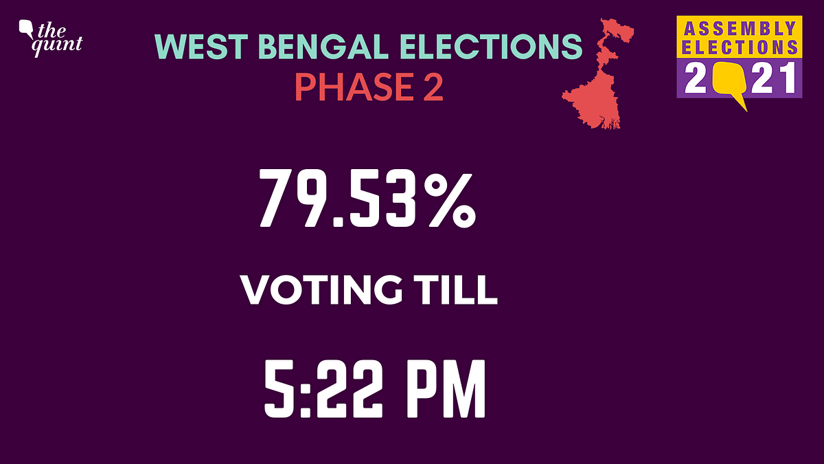 West Bengal Assembly Elections: Phase 2 Ends With 80.43% Turnout
