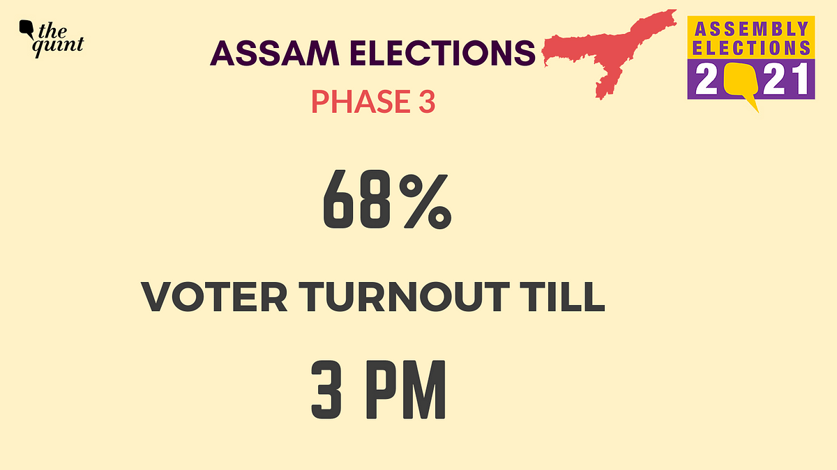 Assam Polls: 82.29% Turnout Till 7 pm as Final Phase Concludes