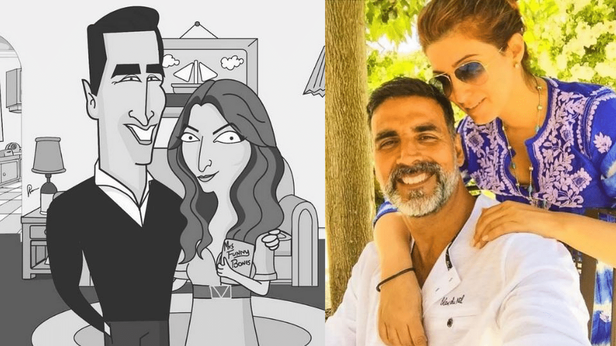 Twinkle Khanna Confirms Akshay Kumar Is Back Home After Testing COVID  Negative