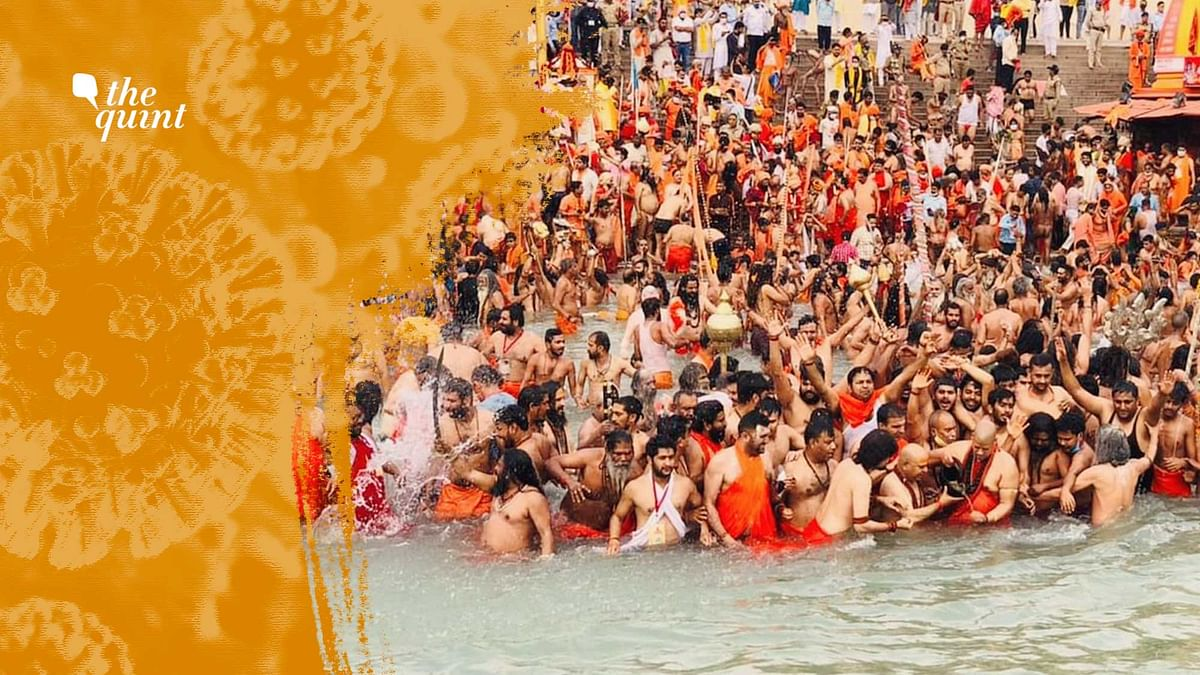 How a COVID Positive Devotee Infected Fellow Travellers at Kumbh