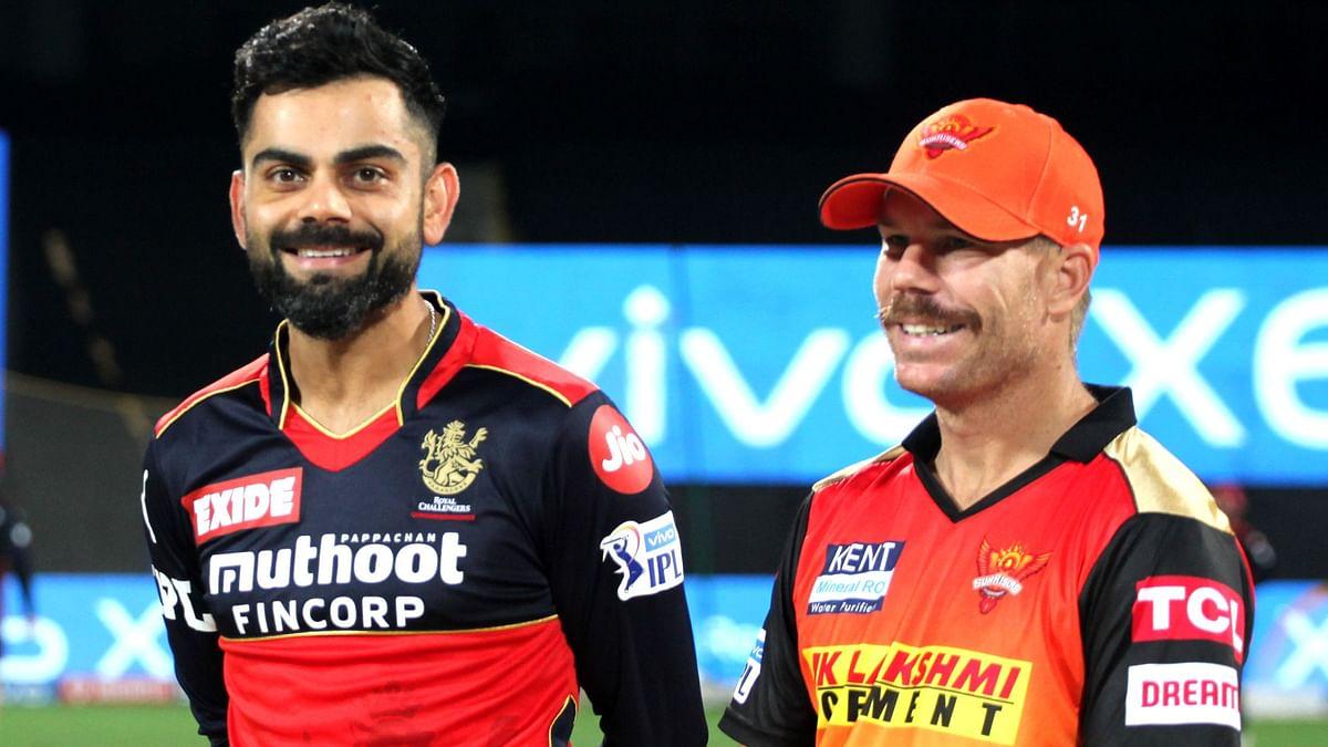 IPL: Warner's Sunrisers to Bowl First vs Virat's Royal Challengers