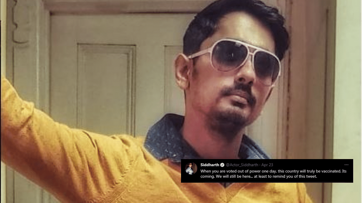 Actor Siddharth Reacts to BJP Promise of Free Vaccines in Bengal