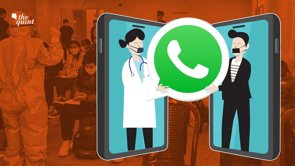 Doctors from across the country have been helping people through a whatsapp group Oxygen of Life.