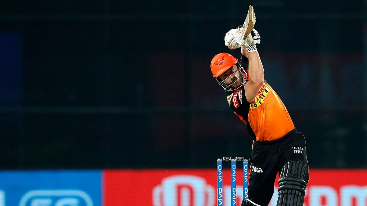 Kane Willamson during his cameo against CSK in Delhi.