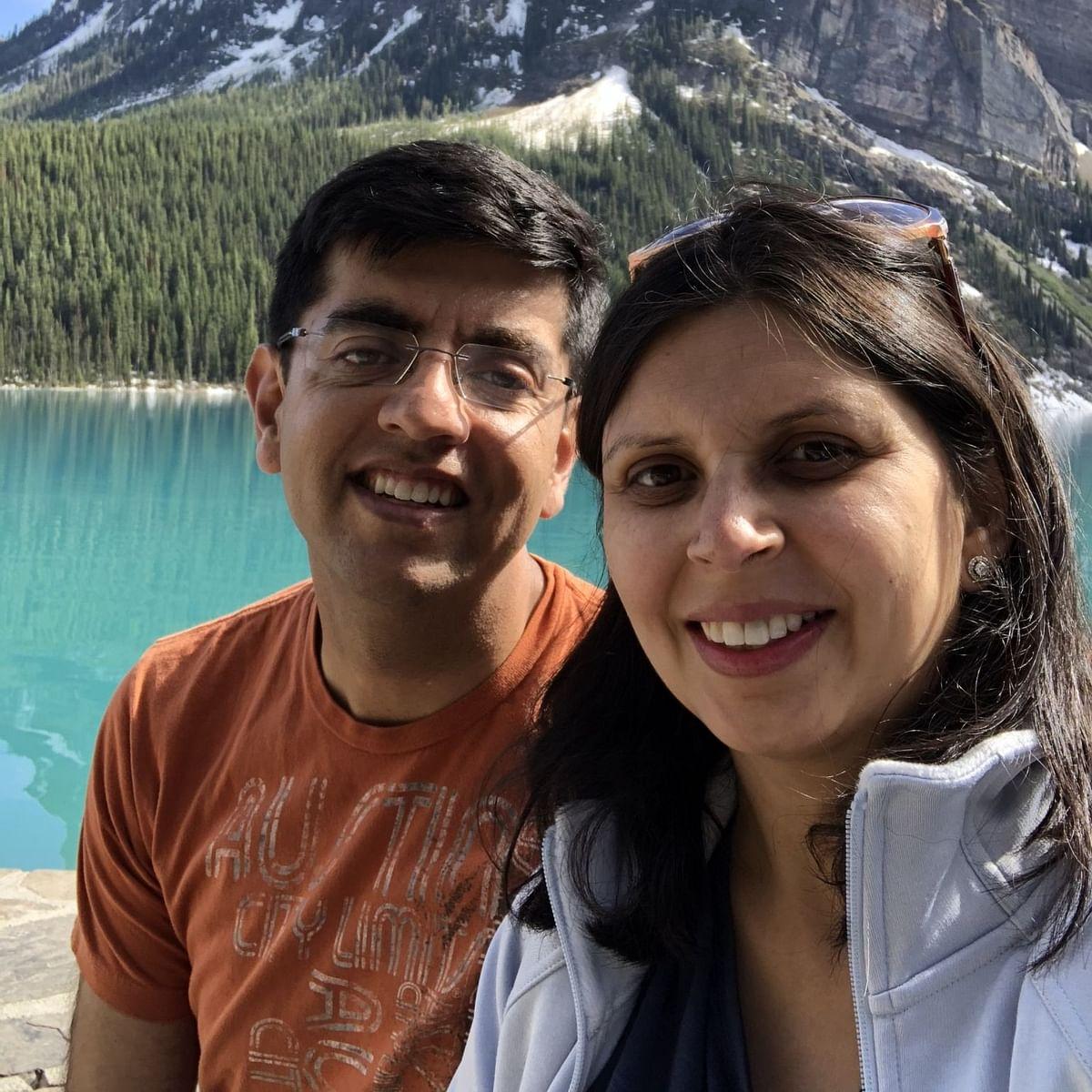 Kanika and Rohit Mediratta.
