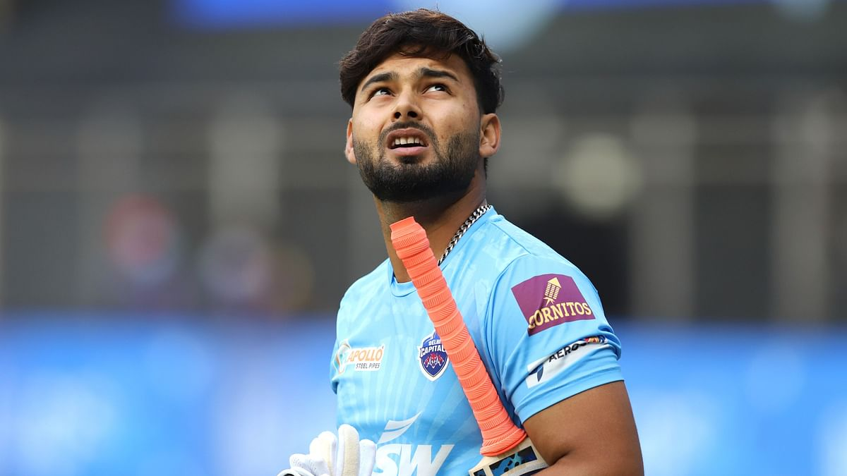 Rishabh Pant ahead of the game against CSK.