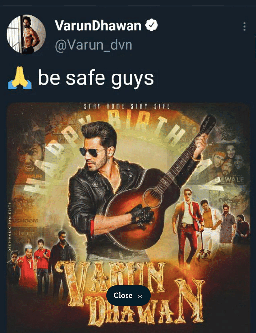Varun Dhawan Called Out for 'Tone Deaf' B'day Tweet; Deletes It