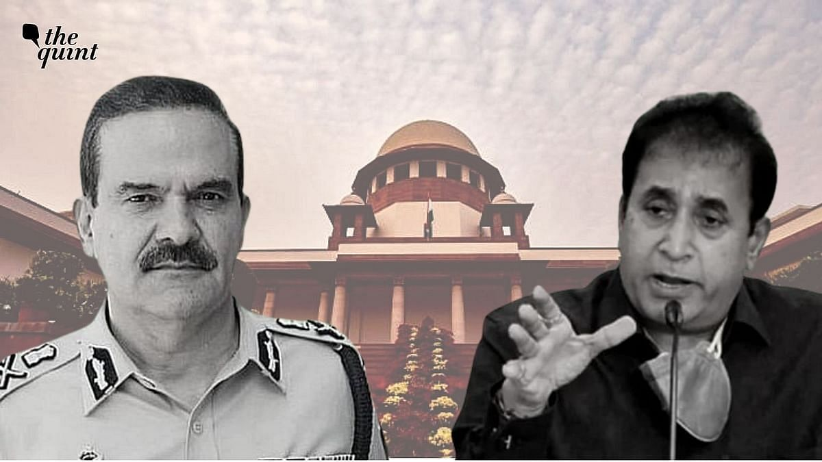 'You Don't Trust Your Own State?' SC on Param Bir Singh's Plea