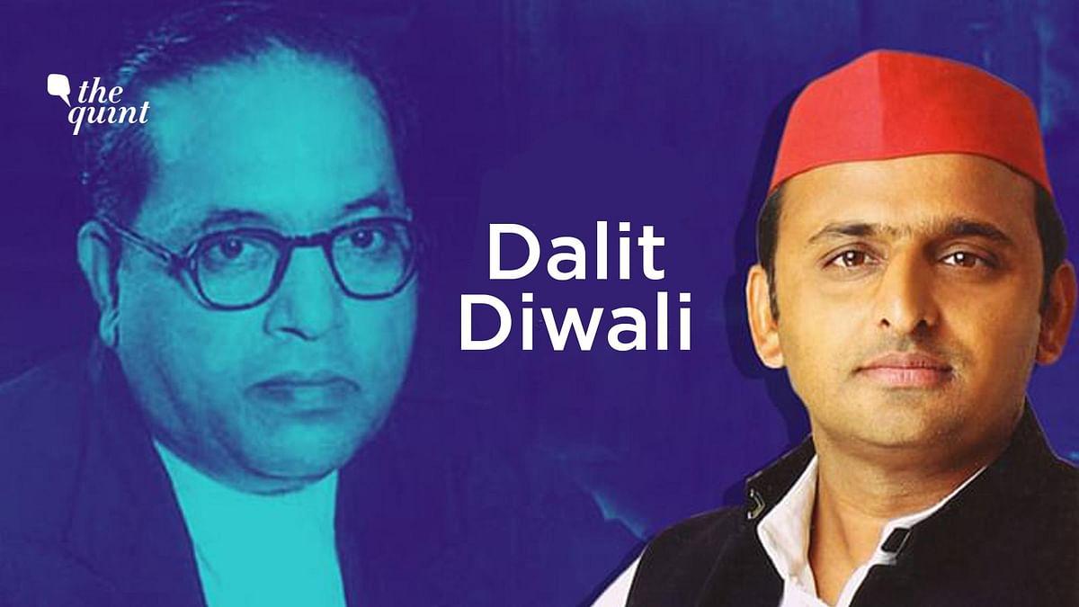Uttar Pradesh's Samajwadi Party has decided to celebrate 130th birth anniversary of Dr. Bhimrao Ambedkar as 'Dalit Diwali' with a motive of doing something 'different'.
