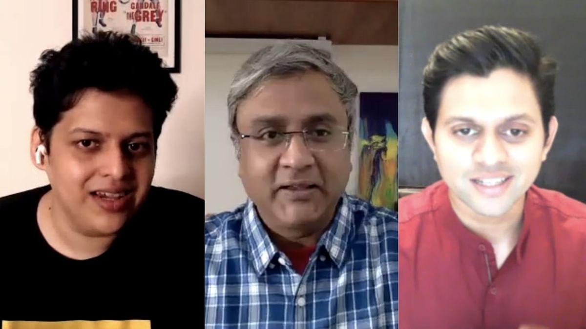 Filmmaker Chaitanya Tamhane and actor Aditya Modak in conversation about their film <i>The Disciple.</i>