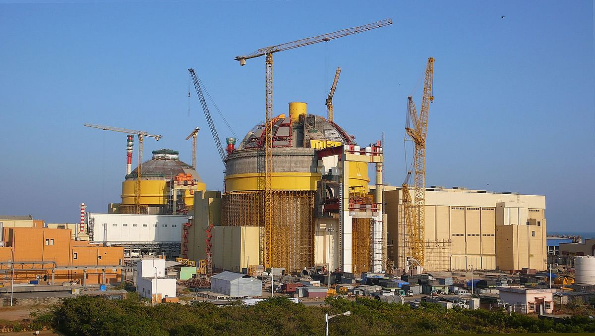 India Takes a Step in Building World's Biggest Nuclear Plant