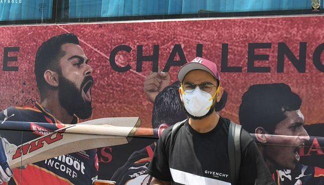 Royal Challengers Bangalore captain Virat Kohli arrives in Chennai for IPL 2021