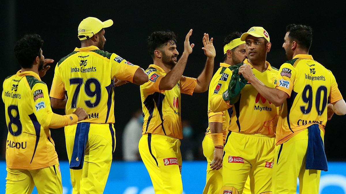 IPL 2021 Points Table: CSK on 1st Spot After Beating KKR