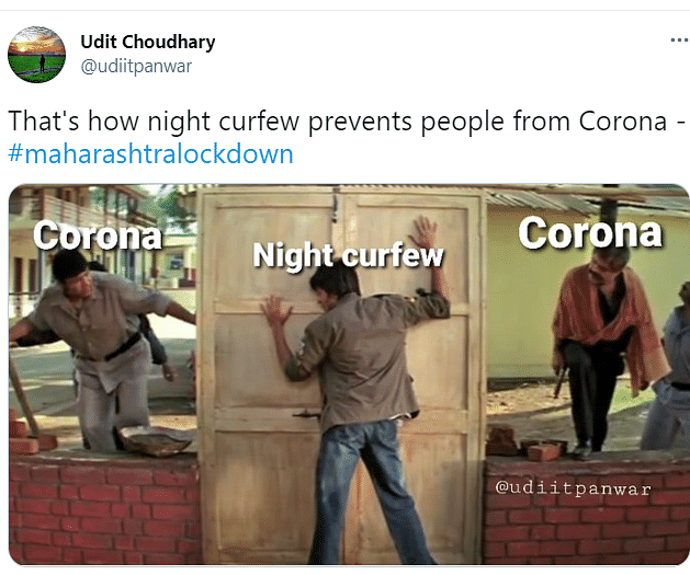 Memes Galore as Maharashtra Announces Lockdown and Night Curfew