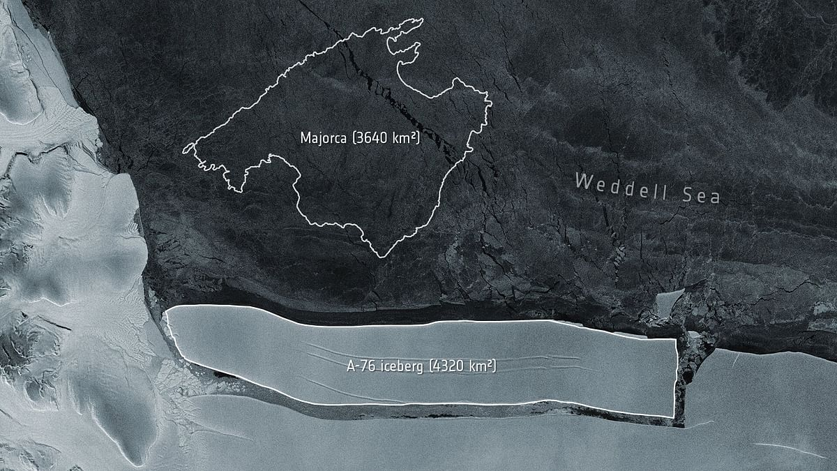 World's Largest Iceberg in Antarctica Is 4 Times Bigger Than NYC