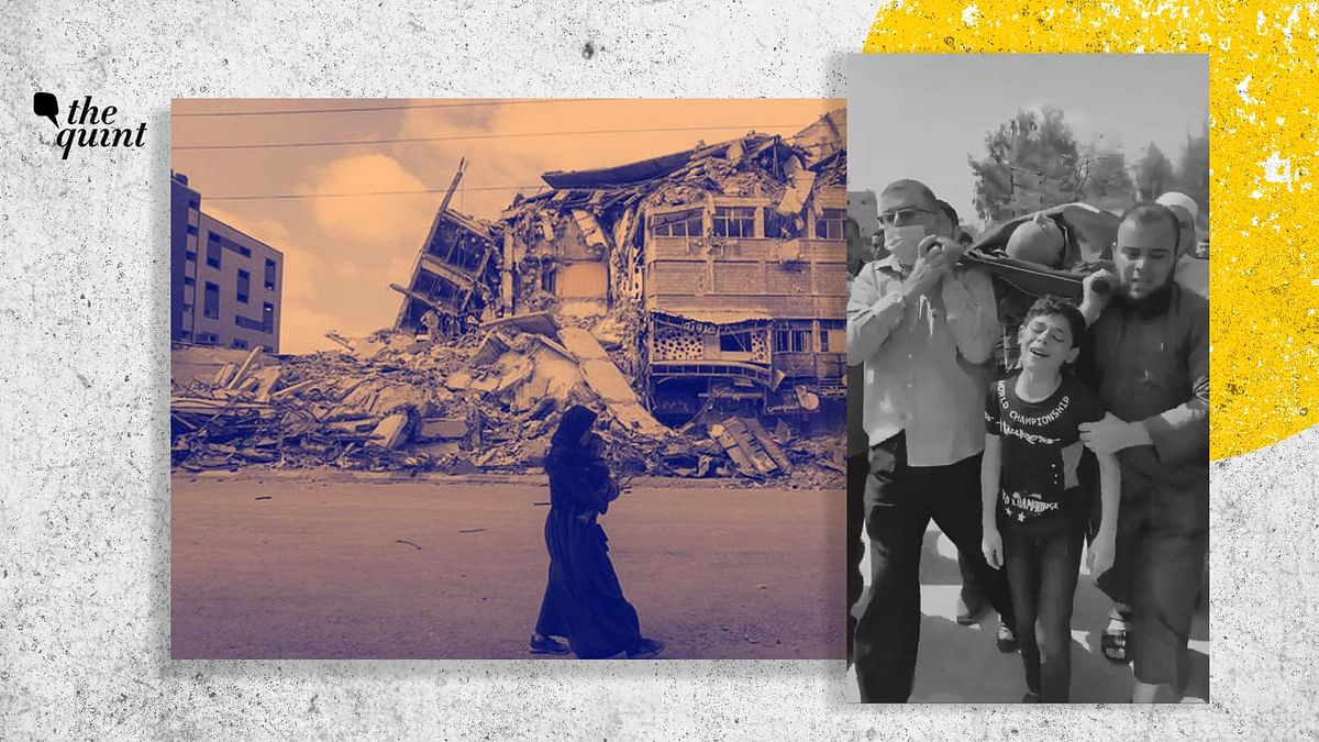 The internet is flooded with videos of destruction, despair, distress and displacement.
