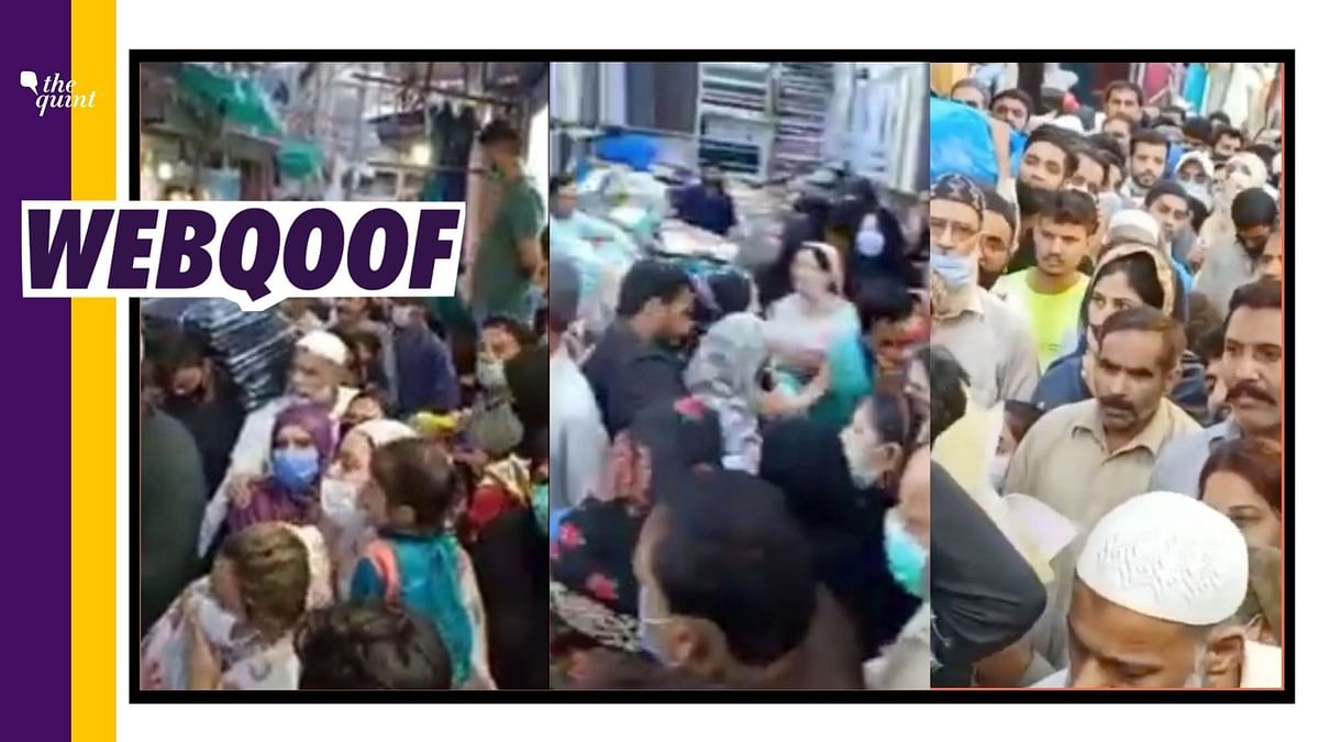 Video From Lahore Passed Off as COVID-19 Norms Flouted in Delhi