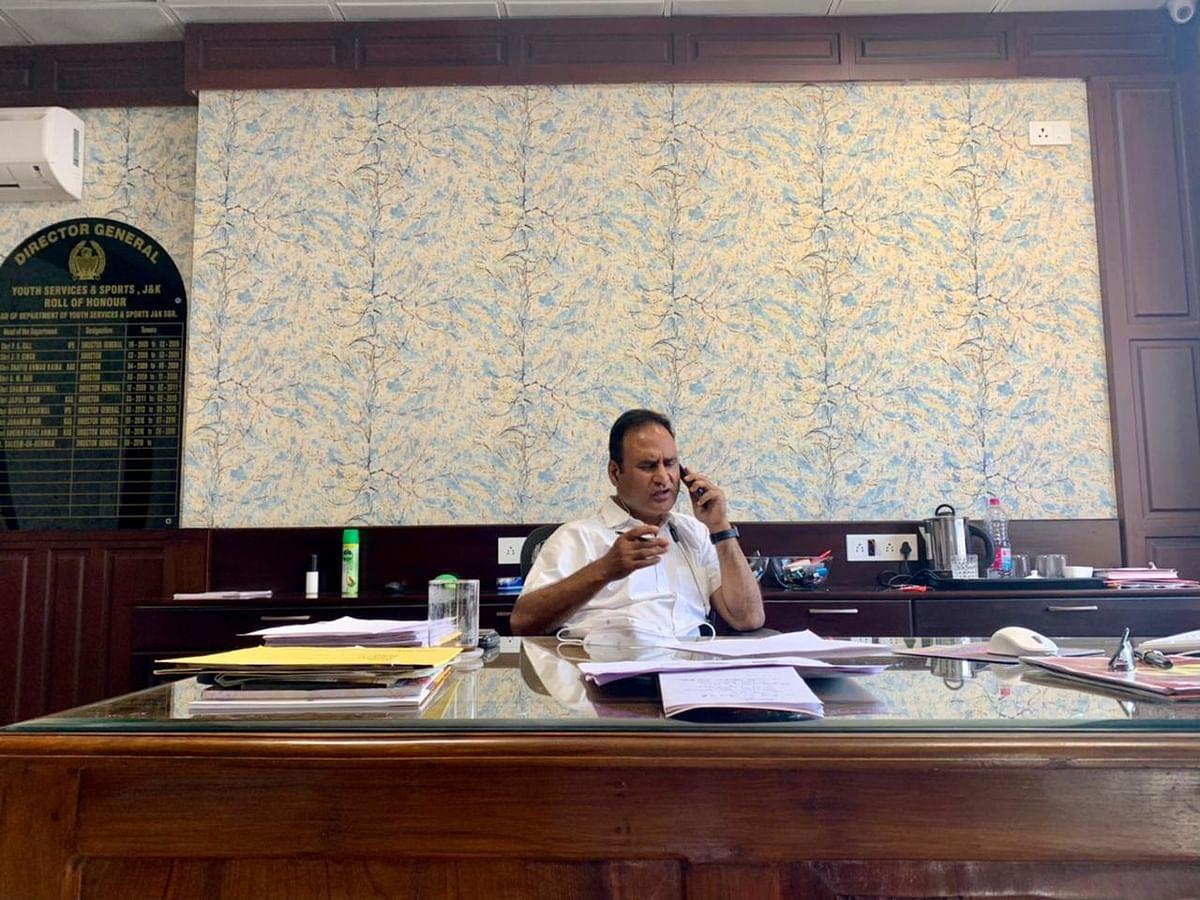 Dr Saleem-ur-Rehman, Chief of J&K's immunisation department