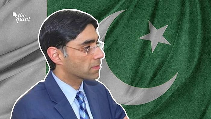 Image of Pakistan's new NSA Moeed Yusuf used for representational purposes.