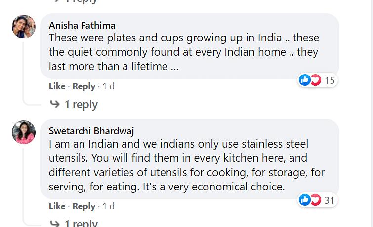 Mayim Bialik Posts About Stainless Steel Utensils, Desis React
