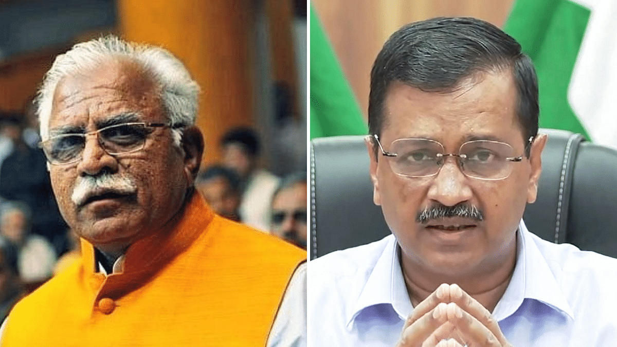 Want To Save People's Lives, Not Vaccines: Kejriwal to Khattar