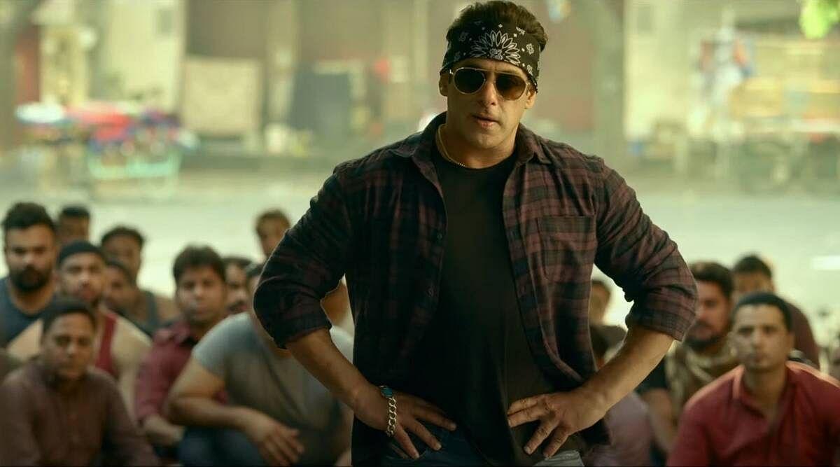 Salman Khan in <i>Radhe</i>.