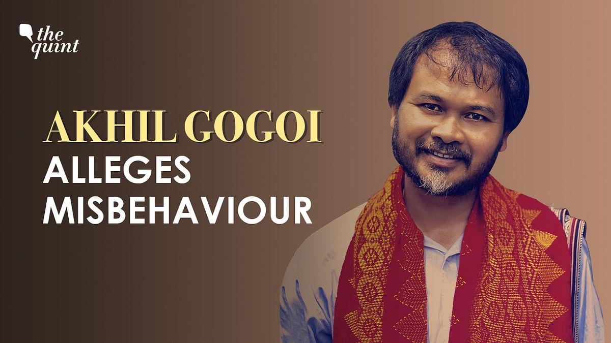 Akhil Gogoi Allegedly Manhandled Before Taking Oath as MLA