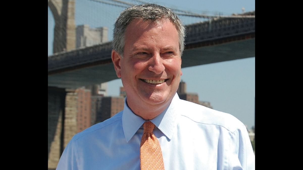 NYC Mayor Bill de Blasio has announced that the city will tap into its stockpile to send medical supplies to India