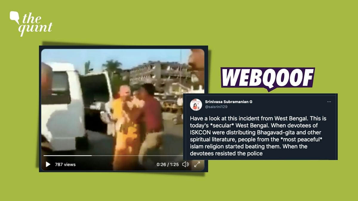 """<div class=""""paragraphs""""><p>Fact Check: 2008 Video From Goa Linked With Post-Poll Violence in West Bengal.</p></div>"""