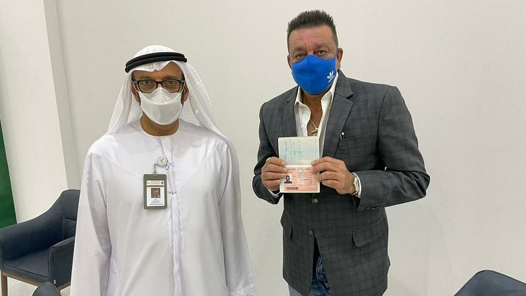 Honoured to Receive a Golden Visa for the UAE: Sanjay Dutt