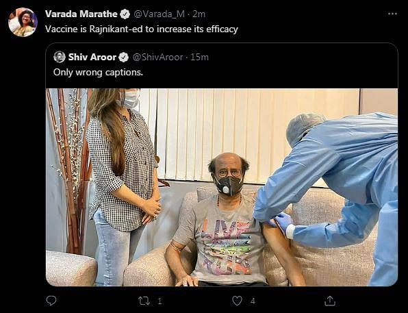 Vaccine Certified Safe: Twitter On Rajinikanth Taking the Shot