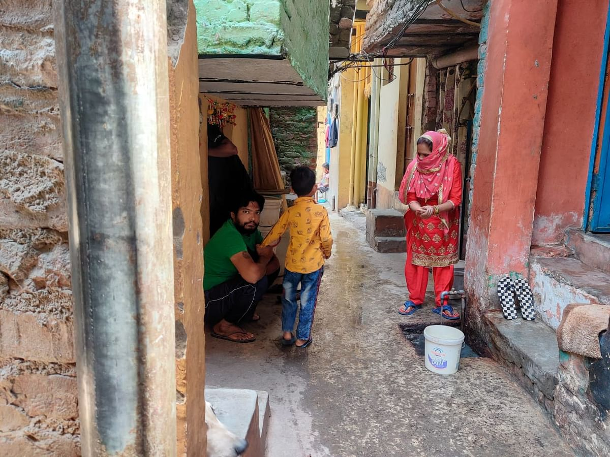 36 percent of Delhi's population is therefore buying food at higher costs and budgeting it at home so they do not have to starve.