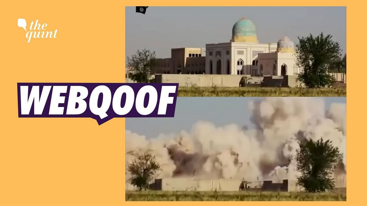 Did Israel Destroy This Mosque? No, It's a 2014 Video From Syria