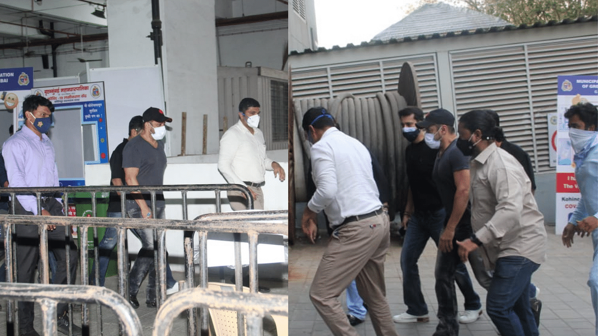 Pics: Salman Khan Spotted at Mumbai Vaccination Centre