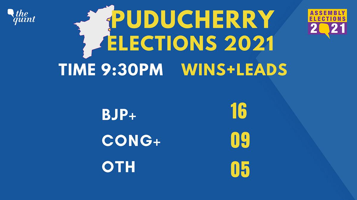 Puducherry Election Results: NDA Wins 16 Seats, Set to Form Govt