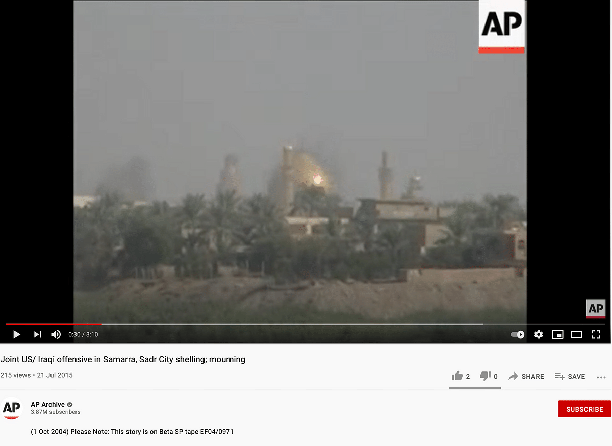 2004 Clip Used to Claim Israeli Forces Taking Over Al-Aqsa Mosque