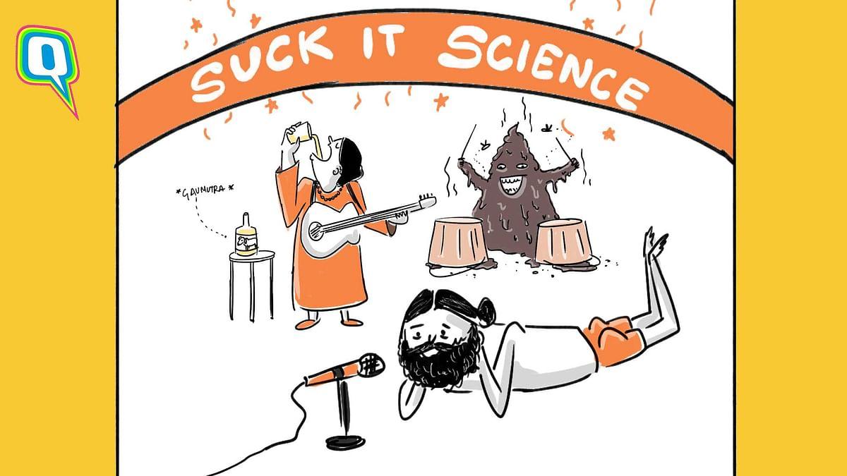 Bhakts, Ramdev, Pragya: A 'Kaafi Real' Anti-Science Band