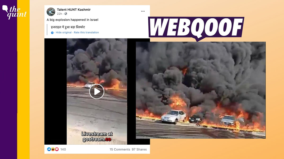 Unrelated Video From Egypt Shared As 'Huge Explosion in Israel'