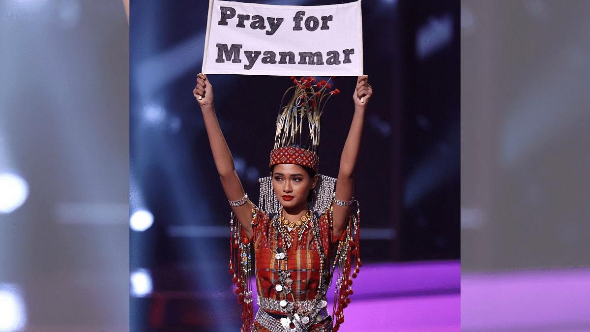 """<div class=""""paragraphs""""><p>Miss Universe Myanmar contestant Thuzar Wint Lwin</p></div>"""