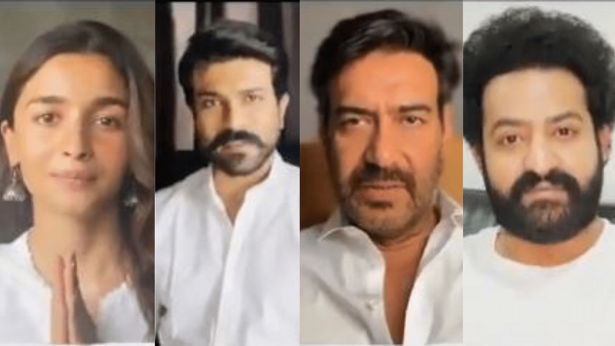 RRR Team, Including Alia & Ajay, Urges Citizens To Get Vaccinated