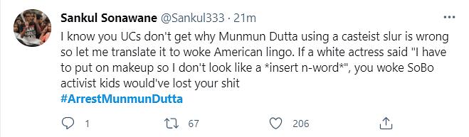 Why Is Arrest Munmun Dutta Trending on Twitter?