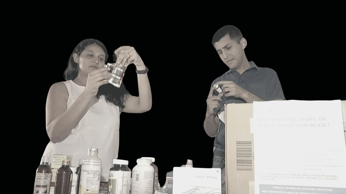 Mumbai Couple Collects 20 Kg Unused Medicines to Give to the Needy