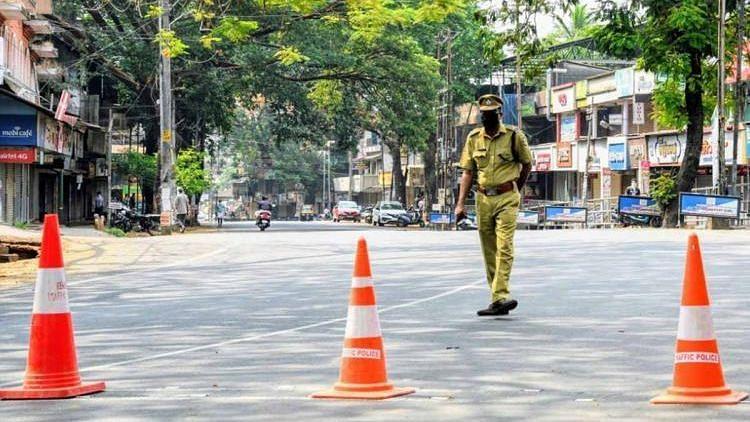 Representational image of lockdown in Kerala