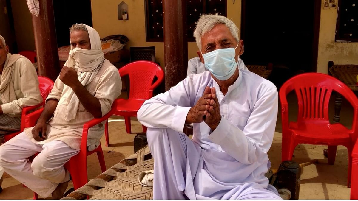 """Sukhbir Singh, 65, lost his son Nawab Singh to COVID-19. """"My Nawab is gone, who will I live for now?"""" he told The Quint."""